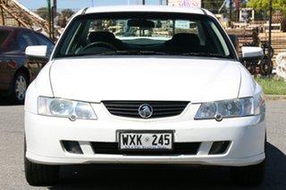 2002 Holden Commodore VY Lumina Executive White 4 Speed Automatic Sedan
