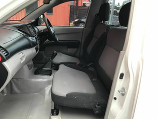 2012 Mitsubishi Triton MN MY12 GLX 4x2 White 5 Speed Manual Cab Chassis