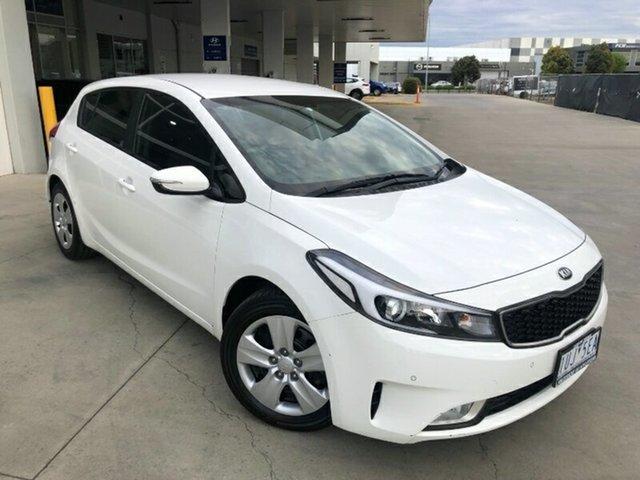 Used Kia Cerato YD MY17 S Melton, 2017 Kia Cerato YD MY17 S White 6 Speed Sports Automatic Hatchback