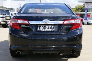 2013 Toyota Camry ASV50R Atara S Black 6 Speed Sports Automatic Sedan