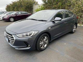 2016 Hyundai Elantra AD MY17 Active Iron Grey 6 Speed Sports Automatic Sedan
