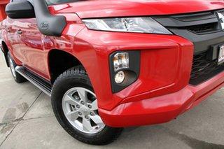 2019 Mitsubishi Triton Red.