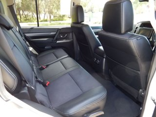 2017 Mitsubishi Pajero NX MY17 GLS LWB (4x4) Crystal Pearl 5 Speed Auto Sports Mode Wagon