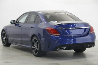 2016 Mercedes-Benz C-Class W205 806+056MY C200 7G-Tronic + Blue 7 Speed Sports Automatic Sedan.