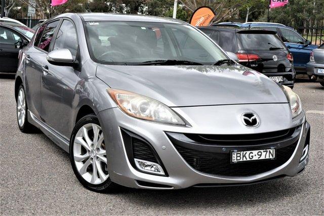 Used Mazda 3 BK1032 MY08 SP23 Phillip, 2009 Mazda 3 BK1032 MY08 SP23 Silver 5 Speed Sports Automatic Hatchback