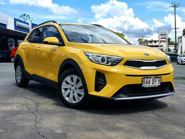 Demo Kia Rio YB PE MY21 S Gympie, 2021 Kia Rio YB PE MY21 S Mighty Yellow 6 Speed Automatic Wagon
