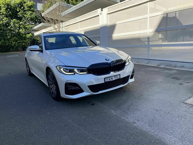 Used BMW 3 Series G20 320i Steptronic M Sport Zetland, 2020 BMW 3 Series G20 320i Steptronic M Sport White 8 Speed Sports Automatic Sedan