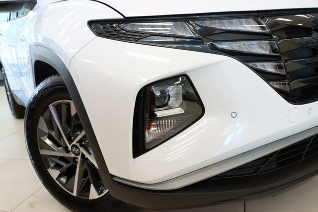 New Hyundai Tucson Wangaratta, 2021 Hyundai Tucson White Cream Automatic Wagon