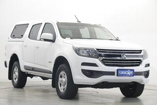 2017 Holden Colorado RG MY17 LS Pickup Crew Cab 4x2 White 6 Speed Sports Automatic Utility