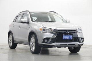2019 Mitsubishi ASX XC MY19 ES 2WD ADAS Silver 1 Speed Constant Variable Wagon.