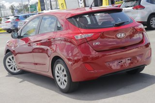 2017 Hyundai i30 GD4 Series II MY17 Active Red 6 Speed Sports Automatic Hatchback.