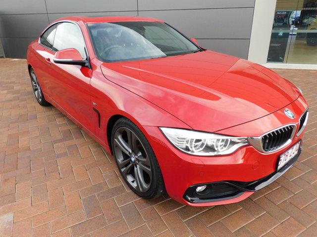 Used BMW 4 Series F32 428i Sport Line Toowoomba, 2013 BMW 4 Series F32 428i Sport Line Red 8 Speed Sports Automatic Coupe