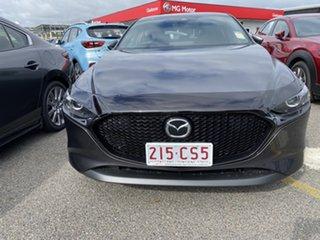 2021 Mazda 3 Machine Grey.