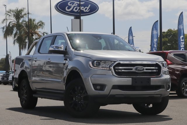 Used Ford Ranger PX MkIII 2020.25MY XLT North Lakes, 2020 Ford Ranger PX MkIII 2020.25MY XLT Silver 6 Speed Sports Automatic Double Cab Pick Up