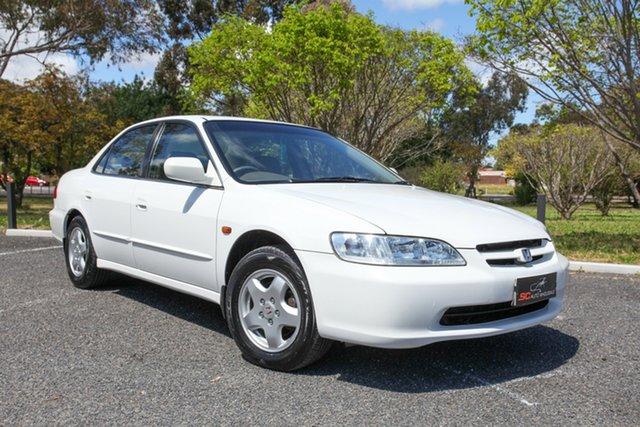 Used Honda Accord V6-L Lonsdale, 2001 Honda Accord V6-L White 4 Speed Automatic Sedan