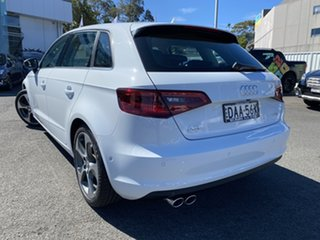 2015 Audi A3 8V MY15 Ambition Sportback S Tronic White 7 Speed Sports Automatic Dual Clutch