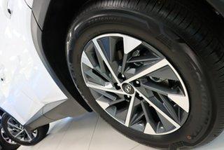 2021 Hyundai Tucson White Cream Automatic Wagon.