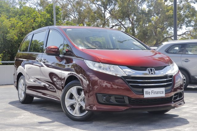 Used Honda Odyssey RC MY15 VTi North Lakes, 2015 Honda Odyssey RC MY15 VTi Red 7 Speed Constant Variable Wagon
