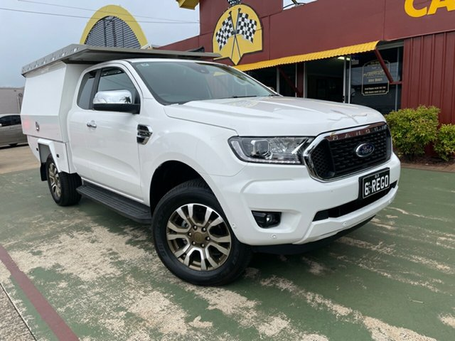 Used Ford Ranger PX MkIII 2021.25MY XLT Toowoomba, 2021 Ford Ranger PX MkIII 2021.25MY XLT 10 Speed Sports Automatic Super Cab Pick Up