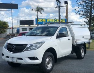 2016 Mazda BT-50 UR0YD1 XT Hi-Rider White 6 Speed Sports Automatic Cab Chassis