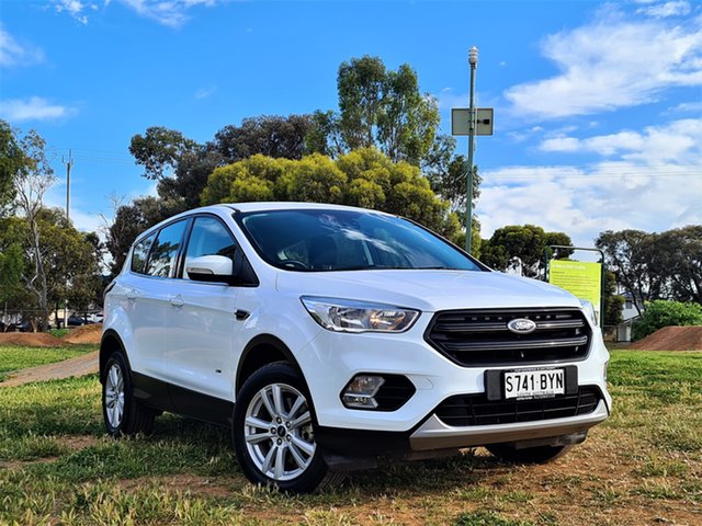 Used Ford Escape ZG 2018.00MY Ambiente St Marys, 2018 Ford Escape ZG 2018.00MY Ambiente White 6 Speed Sports Automatic SUV