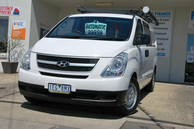 Used Hyundai iLOAD TQ MY15 Wendouree, 2015 Hyundai iLOAD TQ MY15 White 5 Speed Automatic Van