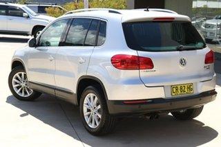 2012 Volkswagen Tiguan 5N MY12.5 155TSI DSG 4MOTION Silver 7 Speed Sports Automatic Dual Clutch.