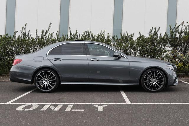 Certified Pre-Owned Mercedes-Benz E-Class W213 808MY E220 d 9G-Tronic PLUS Mulgrave, 2017 Mercedes-Benz E-Class W213 808MY E220 d 9G-Tronic PLUS Selenite Grey 9 Speed Sports Automatic