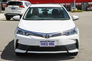 2018 Toyota Corolla ZRE172R Ascent S-CVT White 7 Speed Constant Variable Sedan