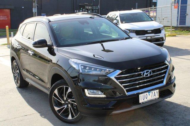 Used Hyundai Tucson TL3 MY21 Highlander D-CT AWD Ferntree Gully, 2020 Hyundai Tucson TL3 MY21 Highlander D-CT AWD Black 7 Speed Sports Automatic Dual Clutch Wagon