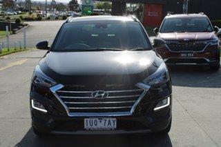 2020 Hyundai Tucson TL3 MY21 Highlander D-CT AWD Black 7 Speed Sports Automatic Dual Clutch Wagon.