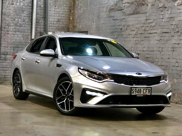 Used Kia Optima JF MY18 GT Mile End South, 2018 Kia Optima JF MY18 GT Silver 6 Speed Sports Automatic Sedan
