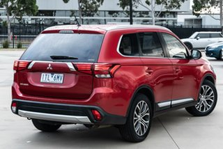 2016 Mitsubishi Outlander ZK MY16 LS 4WD Red 6 Speed Constant Variable Wagon.