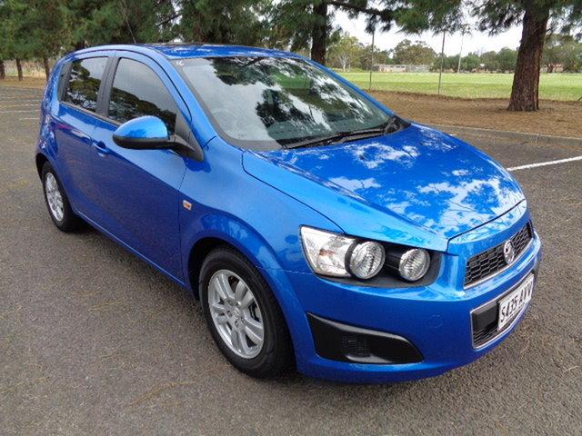 Used Holden Barina TM MY13 CD Elizabeth, 2012 Holden Barina TM MY13 CD Blue 6 Speed Automatic Hatchback