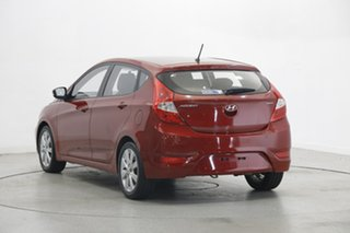 2018 Hyundai Accent RB6 MY18 Sport Red 6 Speed Sports Automatic Sedan.
