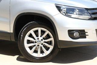 2012 Volkswagen Tiguan 5N MY12.5 155TSI DSG 4MOTION Silver 7 Speed Sports Automatic Dual Clutch