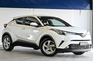 2017 Toyota C-HR NGX10R S-CVT 2WD White 7 Speed Constant Variable Wagon.