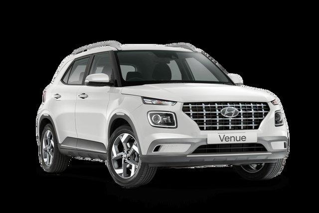 New Hyundai Venue Elite Cardiff, 2021 Hyundai Venue QX.V4 Elite Polar White 6 Speed Automatic Wagon