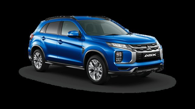 Demo Mitsubishi ASX XD MY21 ES Plus 2WD Hamilton, 2021 Mitsubishi ASX XD MY21 ES Plus 2WD Lightning Blue 1 Speed Constant Variable Wagon