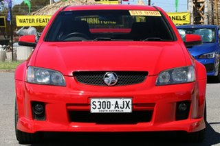 2008 Holden Commodore VE SV6 Red 5 Speed Sports Automatic Sedan