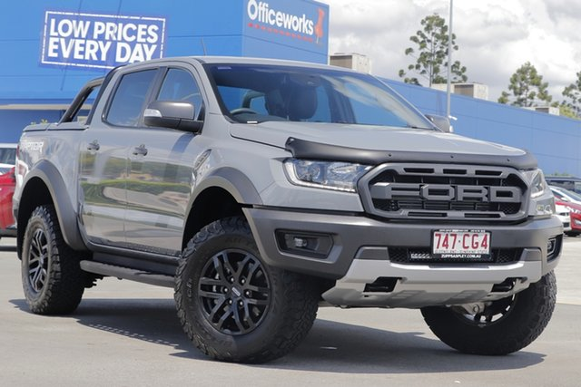Used Ford Ranger PX MkIII 2019.75MY Raptor Aspley, 2019 Ford Ranger PX MkIII 2019.75MY Raptor Grey 10 Speed Sports Automatic Double Cab Pick Up