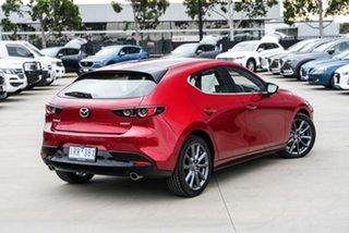 2020 Mazda 3 BP2H7A G20 SKYACTIV-Drive Evolve Red 6 Speed Sports Automatic Hatchback.