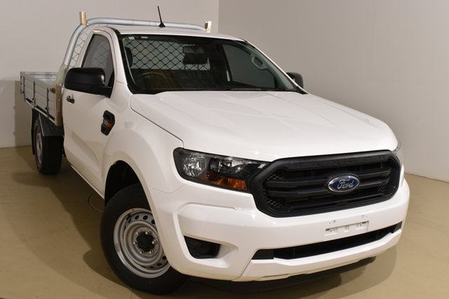 Used Ford Ranger PX MkII 2018.00MY XL Nailsworth, 2018 Ford Ranger PX MkII 2018.00MY XL White 6 Speed Manual Cab Chassis