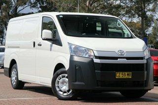 2020 Toyota HiAce GDH300R LWB White 6 Speed Sports Automatic Van.