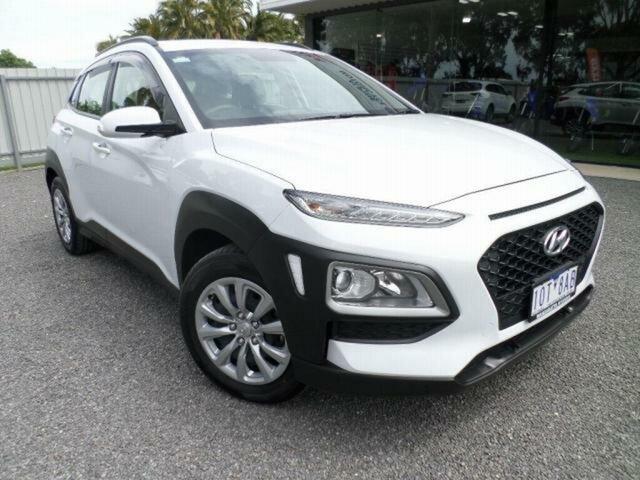 Used Hyundai Kona Wangaratta, 2019 Hyundai Kona OS.2 KONA WG GO 2.0P AUTO (J9W52G61FDD597) Chalk White 6 Speed Automatic Wagon