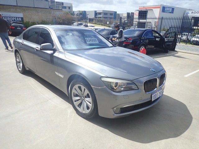 Used BMW 730d F01 Wangara, 2009 BMW 730d F01 Earl Grey Metallic 6 Speed Auto Steptronic Sedan