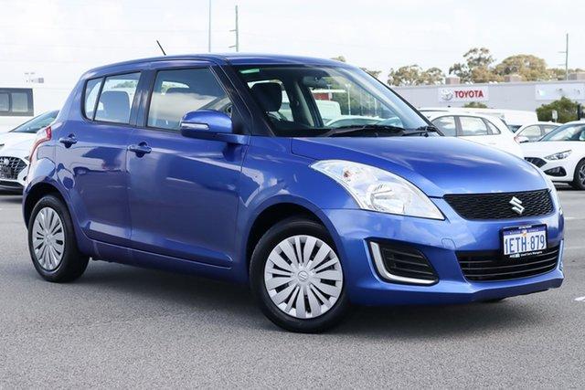 Used Suzuki Swift FZ MY14 GL Wangara, 2014 Suzuki Swift FZ MY14 GL Blue 4 Speed Automatic Hatchback
