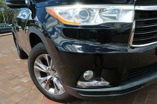 2015 Toyota Kluger GSU50R GXL 2WD Black 6 Speed Sports Automatic SUV.