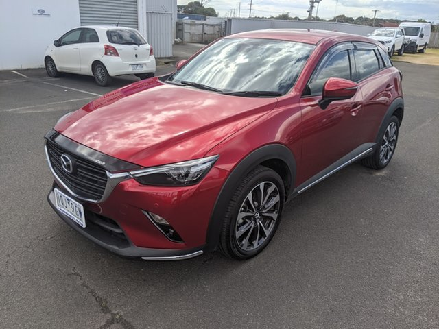 Used Mazda CX-3 DK2W7A sTouring SKYACTIV-Drive FWD Warrnambool East, 2019 Mazda CX-3 DK2W7A sTouring SKYACTIV-Drive FWD Red 6 Speed Sports Automatic Wagon