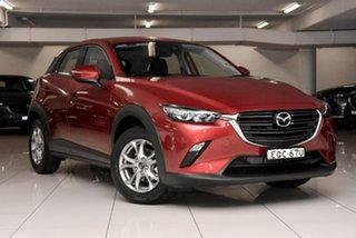 2021 Mazda CX-3 DK2W7A Maxx SKYACTIV-Drive FWD Sport Red 6 Speed Sports Automatic Wagon.